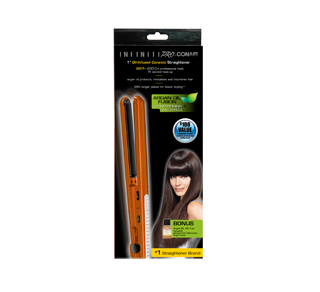1 Oil-Infused Ceramic Straightener, 1 unit