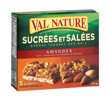 Image of product Val Nature - Sweet 'n Salty Almonds Bars, 175 g