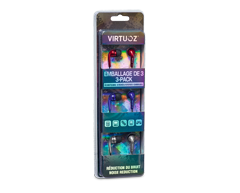 Image of product Virtuoz - Stereo Earbuds, 3 units