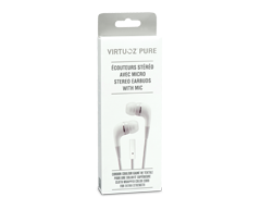 Image of product Virtuoz - Stereo Earbuds with mic - Pure
