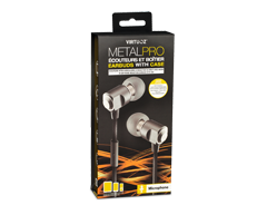 Image of product Virtuoz - Earbuds with Case -  Metal Pro