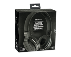 Image of product Virtuoz - Black Diamond Headphones, 1 unit