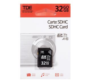 SDHC Card, 1 unit, 32 GB