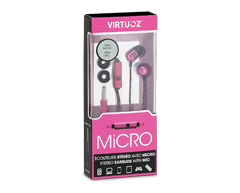 Image of product Virtuoz - Micro Earbuds, Pink