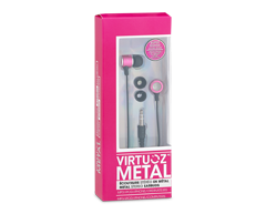 Image of product Virtuoz - Metal Earbuds, Pink