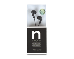 Image of product Virtuoz - Neons Earbuds, Black