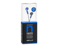 Image of product Virtuoz - Neons Earbuds, Blue
