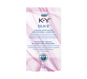 Image of product K-Y - SILK-E Personal Liquid Lubricant, 71 g