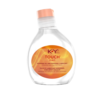 Image of product K-Y - 2-in-1 Personal Lubricant, Warming, 148 ml