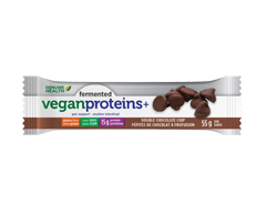 Image of product Genuine Health - Fermented Vegan Proteins+ bar, 55 g, Double Chocolate Chip