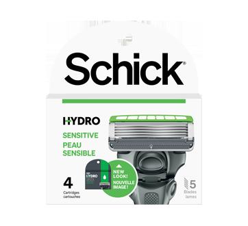 Hydro 5 Sensitive Razors, 4 units