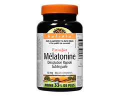 Image of product Holista - Melatonin Extra Strength Easy-Dissolve, 40 units