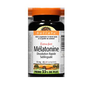 Image of product Holista - Melatonin Extra Strength Easy-Dissolve, 40 units