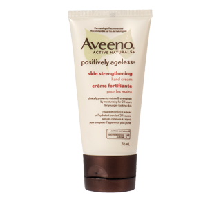 Positively Ageless Skin Strengthening Hand Cream, 76 ml – Aveeno : Moisturizer