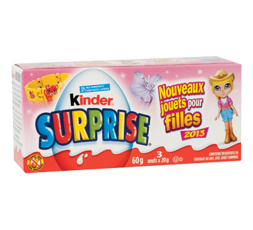 Image 2 of product Ferrero Canada Limited - Kinder Surprise Pink, 3 x 20 g