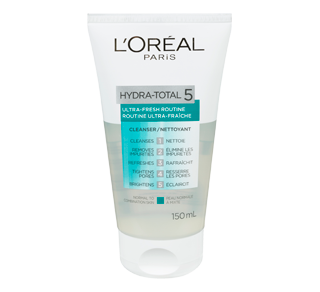 Hydra-Total 5 Ultra-Fresh Gel Cleanser, 150 ml