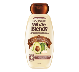 Whole Blends Nourishing Shampoo, 370 ml, Avocado Oil & Shea Butter