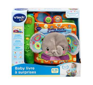 Peek & Play Baby Book, French Version