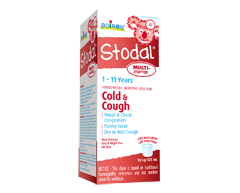 Image of product Boiron - Stodal Multi-Symptoms Cold & Cough Children Syrup, 125 ml