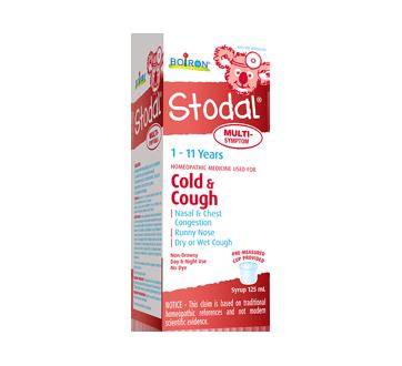 Stodal Multi-Symptoms Cold & Cough Children Syrup, 125 ml
