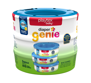 Image of product Playtex Baby - Genie Diaper Pail System Refills, 3 units