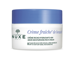 Image of product Nuxe - Crème Fraîche 48 Hr Moisturizing Rich Cream, 50 ml, Dry to Very Dry Skin