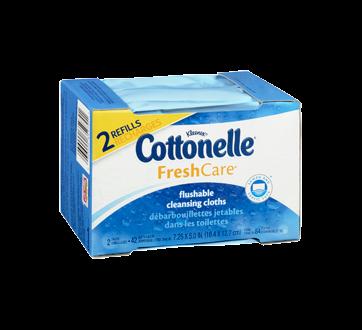 Image 2 of product Cottonelle - FreshCare Flushable Wet Wipes, 84 units
