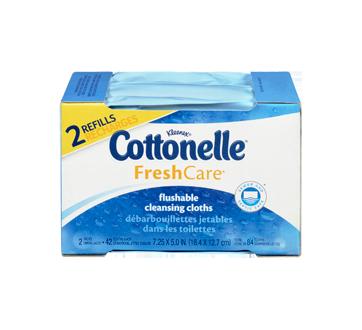Image 3 of product Cottonelle - FreshCare Flushable Wet Wipes, 84 units