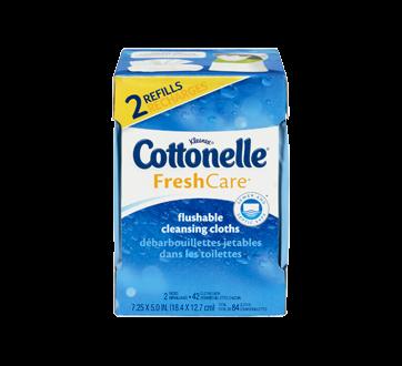 Image 6 of product Cottonelle - FreshCare Flushable Wet Wipes, 84 units