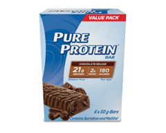 Image of product Pure Protein  - Chocolate Deluxe, 6 x 50 g