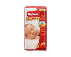 Image of product Huggies - Little Snugglers New Born, Up to 10 lbs