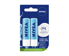 Image of product Nivea - Lip Balm - Hydro-Care Duo Pack