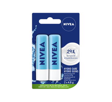 Image 1 of product Nivea - Lip Balm - Hydro-Care Duo Pack
