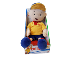 Image of product Caillou - Cuddle with Caillou Plush, 1 unit