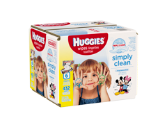 Image of product Huggies - Simply Clean Fragrance Free Baby Wipes Refill, 432 units