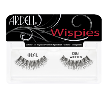 Demi Wispies False Lashes, 1 unit, black