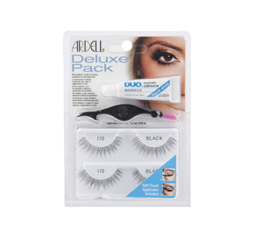 Image of product Ardell - Deluxe Pack False Lashes, 1 unit, 110, Black