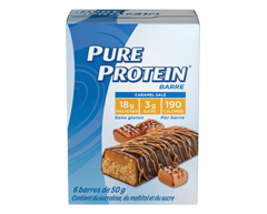 Image of product Pure Protein - Protein Bars, 6 x 50 g, Chocolate Salted Caramel