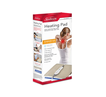 Image of product Sunbeam - Classic Dry Moist Heating Pad, Standard Size, 1 unit