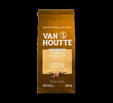Ground Coffee, Vanilla Hazelnut, 340 g