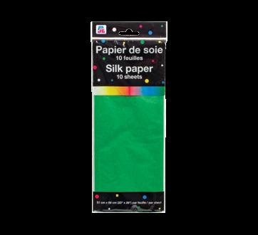 Silk Paper, 10 units, Green