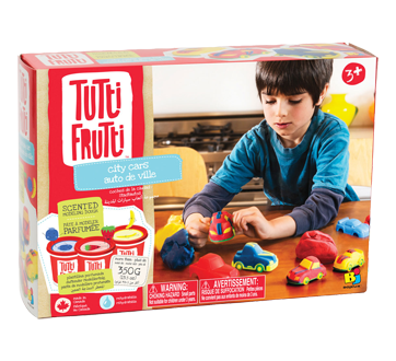City Cars Scented Modeling Dough, 1 unit