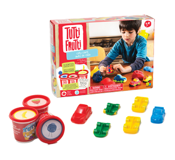 Image 2 of product Tutti Frutti - City Cars Scented Modeling Dough, 1 unit