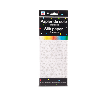 Image of product PJC - Silk Paper, 5 units, Star Pattern