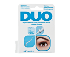 Image of product Duo - Brush On Striplash Adhesive, 7 g, White, Clear