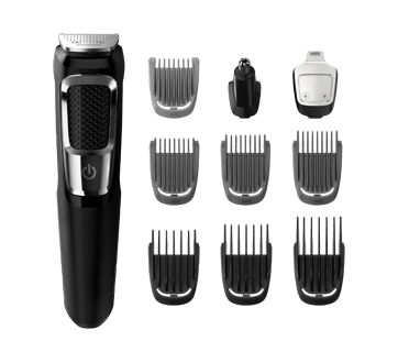 Image 2 of product Philips - Multigroom Series 3000 Multipurpose Trimmer, 1 x 13 pieces