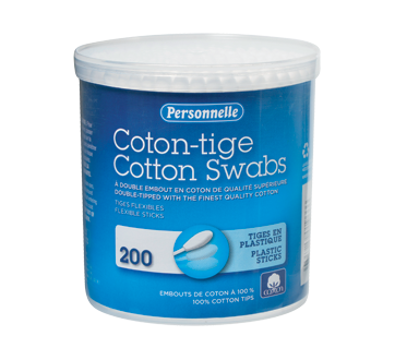 Cotton Swabs, 200 units