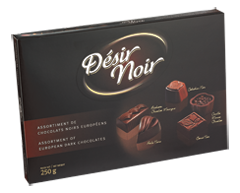 Image of product Désir Noir - Dark Chocolates Assortment, Box, 14 x 250 g