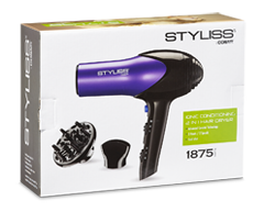 Image of product Styliss by Conair - Ceramic Ionic 2-in-1 Hair Dryer, 1 unit