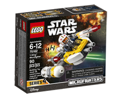 Image of product Lego - Lego Star Wars Y-Wing Microfighter, 1 unit